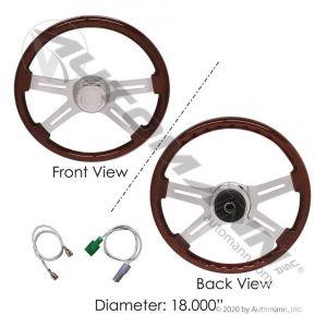 Automann Steering Wheel Peterbilt