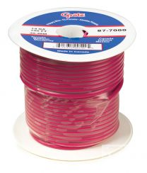 Grote (GPT) General Purpose Thermo Plastic Wire Length 100' Red