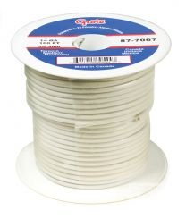 Grote (GPT) General Purpose Thermo Plastic Wire Length 100' White