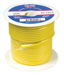 Grote (GPT) General Purpose Thermo Plastic Wire Length 100' Yellow