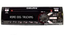 Red/Blue Delphi Satellite Radio w/ Bluetooth, Front USB/AUX ports, And CD Player  - PP105227