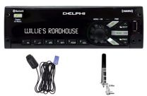 Peiker-Delphi Satellite Radio Kit w/ Antenna And Bluetooth Microphone - PP807005
